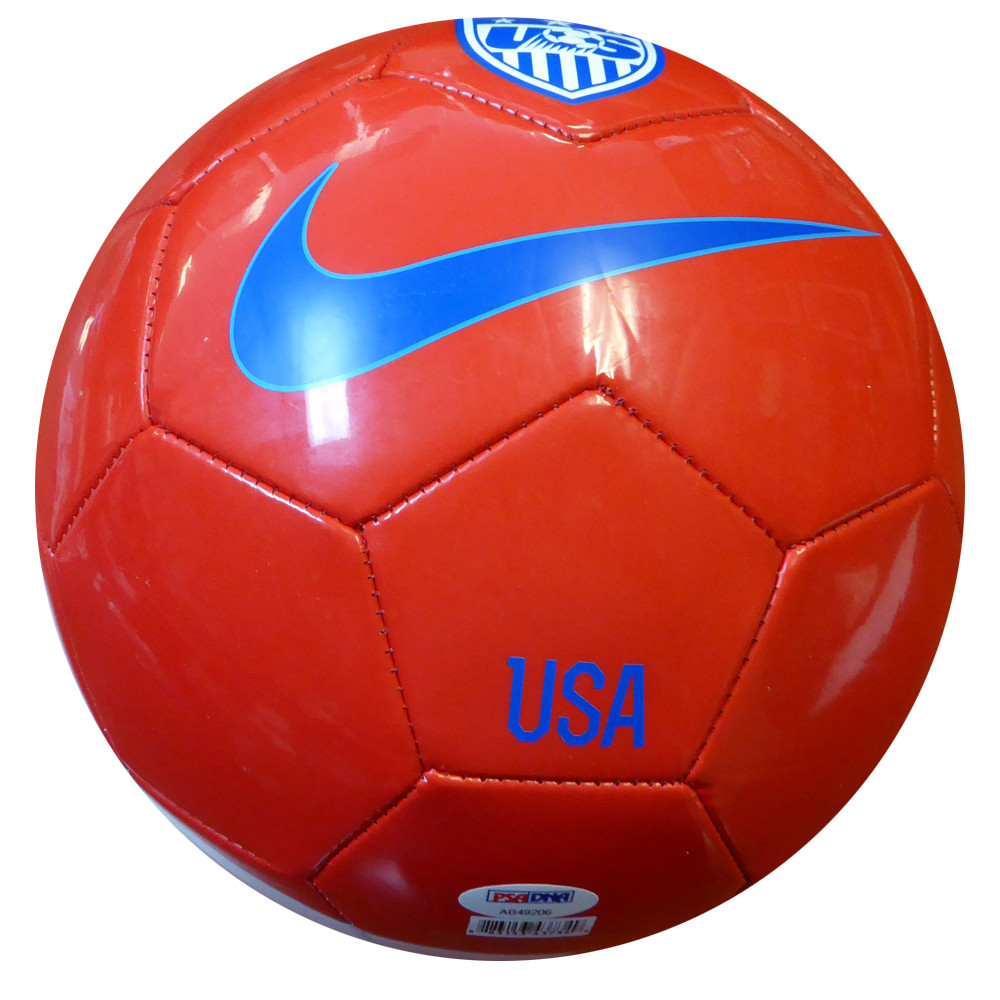 Hope Solo Autographed Nike Team USA Soccer Ball PSA/DNA