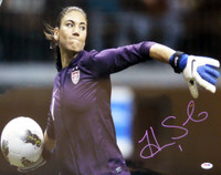 Hope Solo Autographed Hand Signed 16x20 Photo Team USA Soccer PSA/DNA