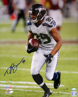 Doug Baldwin Autographed 16x20 Photo Seattle Seahawks In Blue MCS Holo