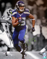 Doug Baldwin Autographed 16x20 Photo Seattle Seahawks In Green MCS Holo