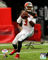 Jameis Winston Autographed 8x10 Photo Tampa Bay Buccaneers PSA/DNA ITP