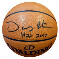"Gary Payton Autographed Spalding Basketball Seattle Sonics ""HOF 2013"" MCS Holo"