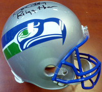 "Kenny Easley Autographed Seattle Seahawks Full Size Helmet ""Ring Of Honor"""