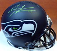 Jermaine Kearse Autographed Seattle Seahawks Mini Helmet In Green