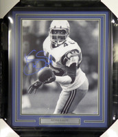Kenny Easley Autographed Framed 16x20 Photo Seattle Seahawks MCS Holo