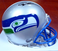 Cortez Kennedy Autographed Seattle Seahawks Throwback Mini Helmet MCS Holo