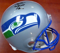 "Cortez Kennedy Autographed Seattle Seahawks Throwback Full Size Helmet ""HOF '12"" MCS Holo"