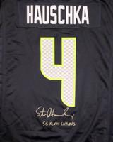 Seattle Seahawks Steven Hauschka Autographed Blue Nike Jersey