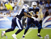 Marcus Mariota & DeMarco Murray Autographed 16x20 Photo Tennessee Titans PSA/DNA