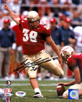Sebastian Janikowski Autographed 8x10 Photo Florida State Seminoles PSA/DNA