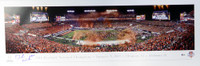 DeShaun Watson Autographed 13x40 Panoramic Photo Clemson Tigers Beckett BAS