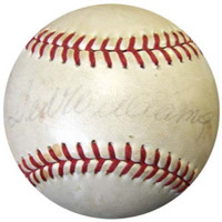 Ted Williams Autographed NL Giles Baseball Boston Red Sox PSA/DNA #I03809