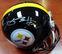 Antonio Brown Autographed Pittsburgh Steelers Full Size Helmet Beckett BAS