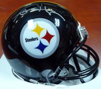 Antonio Brown Autographed Pittsburgh Steelers Mini Helmet Beckett BAS
