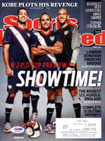 Clint Dempsey Autographed Sports Illustrated Magazine Team USA PSA/DNA