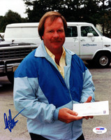 This is an 8x10 Photo that has been hand signed by Craig Stadler. The autograph has been certified authentic by PSA/DNA and comes with their sticker and matching certificate of authenticity.