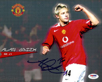 Alan Smith Autographed 8x10 Photo Manchester United PSA/DNA #U54325