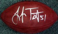 Lofa Tatupu Autographed NFL Leather Football Seattle Seahawks PSA/DNA Stock