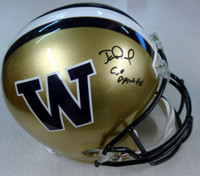 "Jake Locker Autographed Washington Huskies Full Size Helmet ""Go Dawgs"" PSA/DNA RookieGraph Stock"