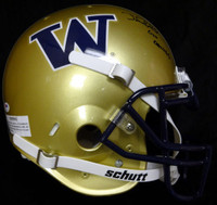 "Jake Locker Autographed Washington Huskies Full Size Authentic Schutt Helmet ""Go Dawgs"" PSA/DNA"