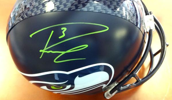 Russell Wilson Autographed Seattle Seahawks Full Size Helmet