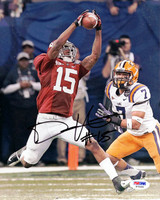 Darius Hanks Autographed 8x10 Photo Alabama Crimson Tide PSA/DNA Stock
