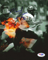 Michael Turner Autographed 8x10 Photo Northern Illinois PSA/DNA