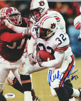 Rudi Johnson Autographed 8x10 Photo Auburn PSA/DNA #S35183