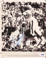 Greg Landry Autographed 8x10 Wire Photo Lions PSA/DNA #S35493
