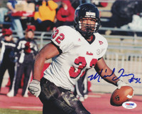 Michael Turner Autographed 8x10 Photo Northern Illinois PSA/DNA #S35564