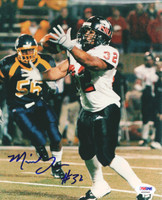 Michael Turner Autographed 8x10 Photo Northern Illinois PSA/DNA #S35565
