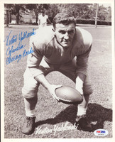 Venton Yablonski Autographed 8x10 Photo Chicago Cardinals PSA/DNA