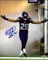Richard Sherman Autographed 8x10 Photo Seattle Seahawks RS Holo Stock #71536