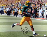 LaMichael James Autographed 16x20 Photo Oregon Ducks PSA/DNA RookieGraph
