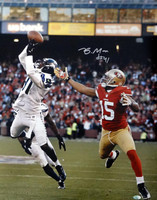 Byron Maxwell Autographed 16x20 Photo Seattle Seahawks.