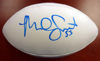 Malcolm Smith Autographed Super Bowl Logo Football Seattle Seahawks