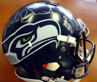 "Malcolm Smith Autographed Seattle Seahawks Full Size Super Bowl Authentic Speed Helmet ""SB XLVIII MVP"""