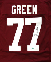 Jacob Green Autographed Texas A&M Aggies Maroon Jersey