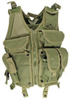 Lightweight Mesh Tactical Vest, OD Green
