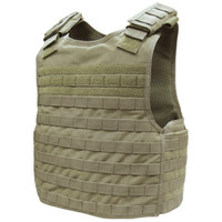 Condor MOLLE Defender Plate Carrier, Tan