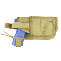 Condor MOLLE Horizontal Tactical Holster, Tan