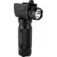 Aluminum Tactical Grip with Integrated 180 Lumens Flashlight