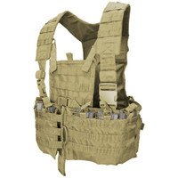 Condor MOLLE Modular Chest Rig/Hydration Carrier, Tan