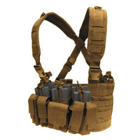 Condor MOLLE Recon Chest Rig, Tan
