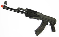 CYMA CM028B AK-47 RIS AEG Airsoft Rifle FULL METAL, 380 FPS, Folding Stock - REFURBISHED