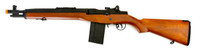 CYMA CM032A M14 SOCOM AEG Wood Color Airsoft Rifle