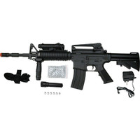 Dboys M4A1 with Laser and Light Airsoft Rifle