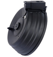 CYMA Metal AK Drum Magazine, 2500 Rounds