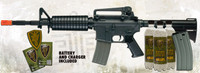 Elite Force M4 Carbine Black Airsoft Rifle Kit