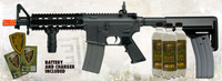 Elite Force M4 CQB Black Airsoft Rifle Kit